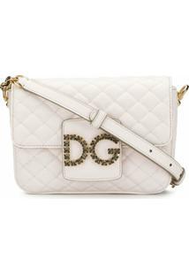 Dolce & Gabbana Bolsa Transversal Dg Millennials - Branco
