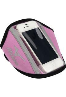 Porta Acessório Celular Mizuno Mobile - Cor: Rosa - Tam: Un
