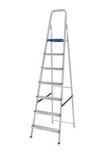 Escada Alumínio 7 Degraus - Unissex