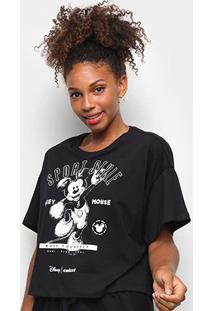 Camiseta Colcci Sport Style Mickey Feminina - Feminino