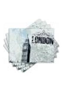 Jogo Americano - London Com 4 Peças - 143Jo