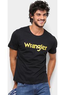 Camiseta Wrangler Manga Curta Masculina - Masculino