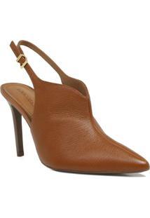 Ankle Boot Loucos E Santos Chanel Feminino - Feminino-Marrom