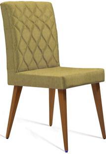 Cadeira Julia T1092 Linhao Mostarda Daf Mostarda Bege