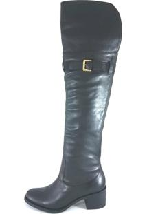 Bota Montaria Topgrife Over The Knee Matisse Preto