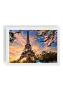 Quadro Love Decor Decorativo Com Moldura Paris Branco