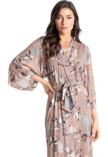 Robe Longo Estampado Afrodite
