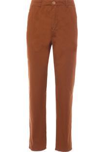 Calça Masculina Basic Color - Marrom