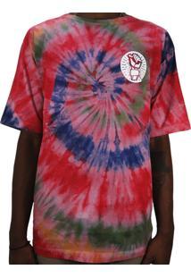 Camiseta Outlawz Tie Dye Do It Your Self Multicolorido 2