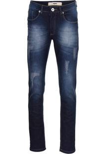 Calça Jeans Slim Fit Masculina Hamy