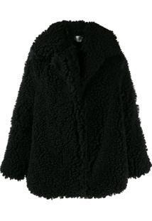 Neul Oversized Faux-Shearling Jacket - Preto