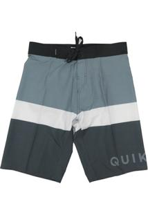 Bermuda Agua Quiksilver Every Day Blocked - Masculino