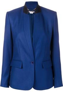 Stella Mccartney Jaqueta Fleur - Azul