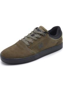 Tênis Couro Dc Shoes Crisis La Verde