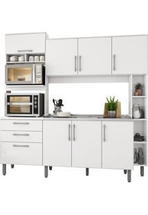 Cozinha Compacta Jaeli Carol J620, Branco