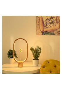 Luminária Em Madeira Balance Lamp