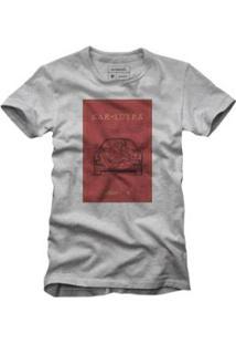 Camiseta Reserva Kar Sutra Masculina - Masculino-Cinza