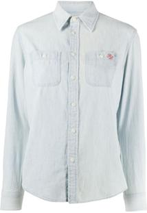 Polo Ralph Lauren Teddybear Print Shirt - Azul