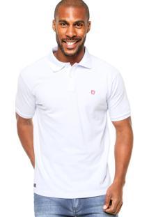 Camisa Polo Manga Curta Mr. Kitsch Basic Branca