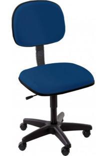 Cadeira Executiva Giratória Super Pop Siena Móveis Azul