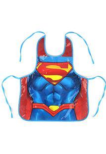 Avental Superman Av55539Sm Azul