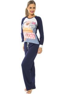 Pijama Feminino Recco Viscose 09138 - Feminino
