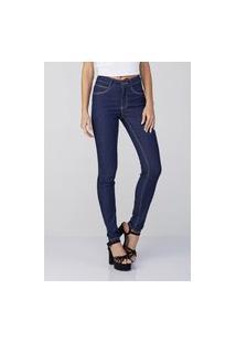 Calça Jeans Osmoze Mid Rise Skinny Z 6001100182 Azul