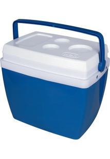 Caixa Térmica Mor 34L - Cooler - Unissex-Azul