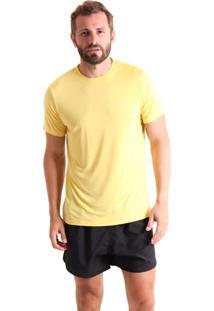 Camiseta Masculina Gradient Amarelo Liquido
