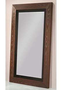 Espelho Murano Com Moldura Imbuia Preto Brilho 1,80 Mt 32396 Sun House