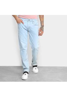 Calça Jeans Slim Colcci Masculina - Masculino-Azul Claro