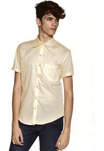 Camisa Manga Curta Neesie Amarela