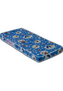 Colchão Baby Physical D18 60X130X10 - Ortobom - Azul