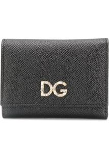Dolce & Gabbana Carteira Com Logo - Preto
