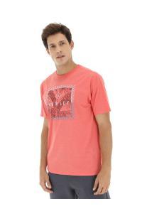 Camiseta Hurley Silk Be Fronds - Masculina - Vermelho