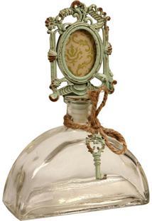 Garrafa Decorativa De Vidro Vieux
