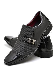 Sapato Social Verniz Zaffiori E2030