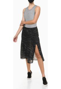 Body Regata Feminino Básico Cinza Mescla Calvin Klein Jeans - P