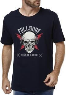 Camiseta Manga Curta Masculina Bordô - Masculino