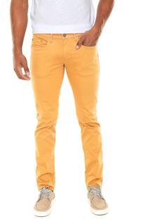 Calça Sarja Calvin Klein Jeans Skinny Color Caramelo