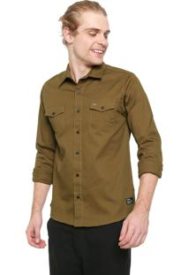 Camisa Hurley Reta Army Verde