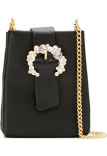 Tory Burch Bolsa Tiracolo 'Greer Phone' - Preto