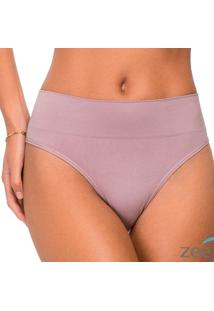 Calcinha Tanga Cós Largo Sem Costura Roxa Honey Be Ca068 Roxo