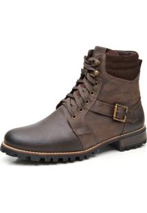 Bota Liferock Lr11020-1 Cafe