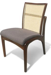 Cadeira Com Tela Inspirada No Design De Vladimir Kagan