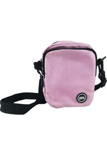 Mini Bolsa Lateral Chronic Shoulder Bag Rosa Lisa - Kanui
