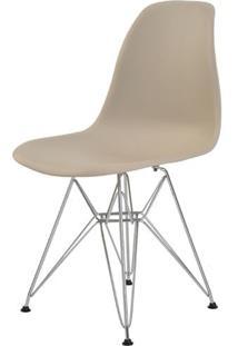 Cadeira Eames Eiffel Pp Nude Base Cromada - 38581 - Sun House