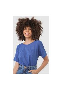 Blusa Malwee Flamê Azul
