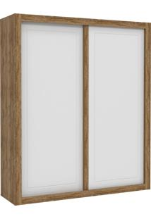 Guarda-Roupa 2 Portas De Correr Tutto New Branco-Acetinado E Teka Matic Móveis