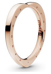 Anel Rosetm Pandora Signature Arcos Do Amor